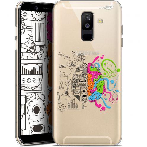 "Coque Gel Samsung Galaxy A6 PLUS 2018 (6"") Extra Fine Motif -  Le Cerveau"