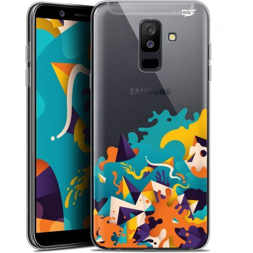 "Coque Gel Samsung Galaxy A6 PLUS 2018 (6"") Extra Fine Motif -  Les Vagues"