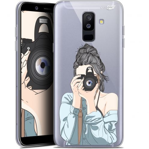 "Coque Gel Samsung Galaxy A6 PLUS 2018 (6"") Extra Fine Motif -  La Photographe"
