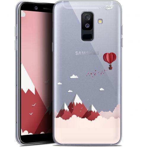 """Coque Gel Samsung Galaxy A6 PLUS 2018 (6"""") Extra Fine Motif -  Montagne En Montgolfière"""