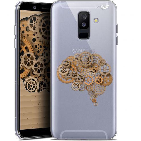 "Coque Gel Samsung Galaxy A6 PLUS 2018 (6"") Extra Fine Motif -  Mécanismes du Cerveau"