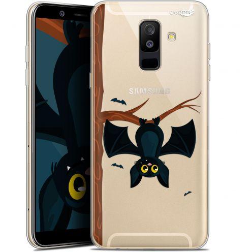 """Coque Gel Samsung Galaxy A6 PLUS 2018 (6"""") Extra Fine Motif -  Petite Chauve Souris"""
