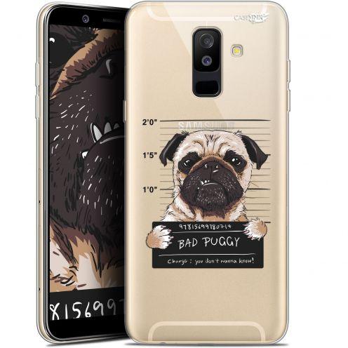 "Coque Gel Samsung Galaxy A6 PLUS 2018 (6"") Extra Fine Motif -  Beware The Puggy Dog"