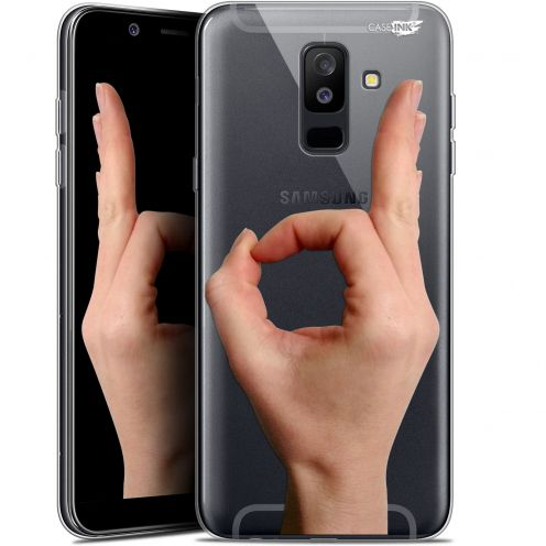 "Coque Gel Samsung Galaxy A6 PLUS 2018 (6"") Extra Fine Motif -  Le Jeu du Rond"