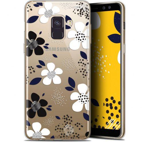 "Coque Gel Samsung Galaxy A8 (2018) A530 (5.6"") Extra Fine Motif - Marimeko Style"