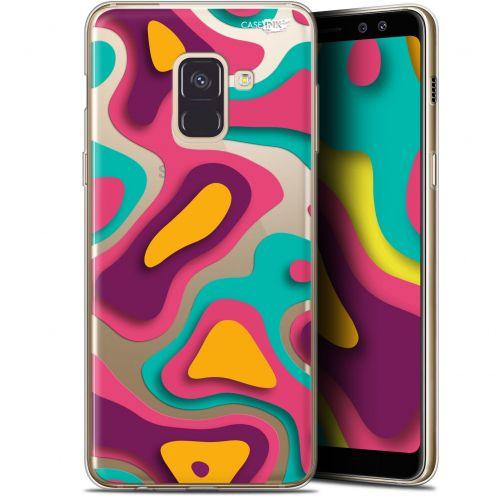 """Coque Gel Samsung Galaxy A8 (2018) A530 (5.6"""") Extra Fine Motif - Popings"""