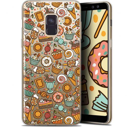 "Coque Gel Samsung Galaxy A8 (2018) A530 (5.6"") Extra Fine Motif - Bonbons"