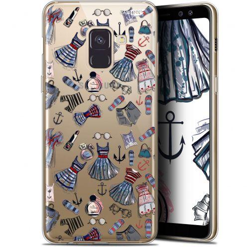 """Coque Gel Samsung Galaxy A8 (2018) A530 (5.6"""") Extra Fine Motif - Fashionista"""