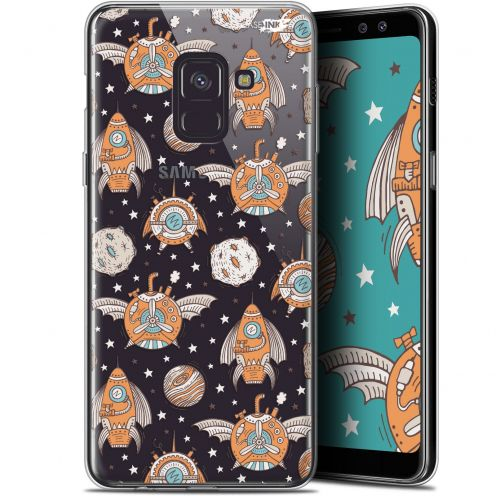 "Coque Gel Samsung Galaxy A8 (2018) A530 (5.6"") Extra Fine Motif -  Punk Space"