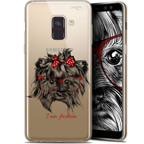 "Coque Gel Samsung Galaxy A8 (2018) A530 (5.6"") Extra Fine Motif -  Fashion Dog"
