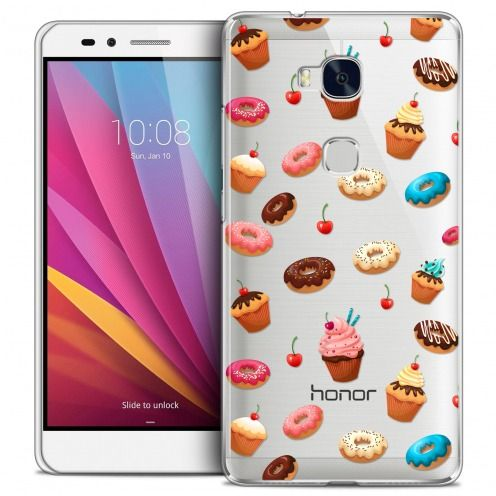 Coque Crystal Honor 5X Extra Fine Foodie - Donuts