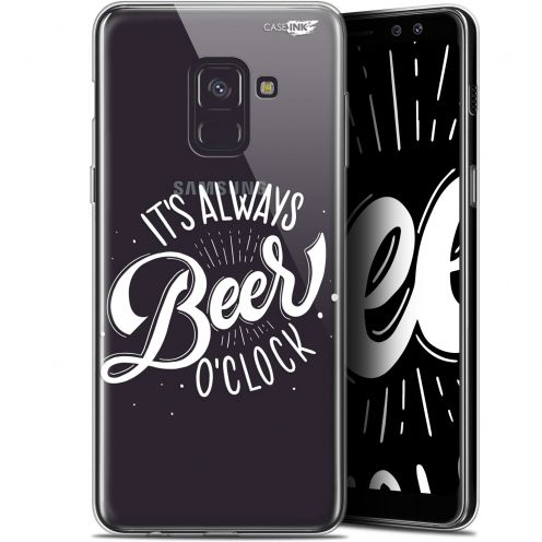 "Coque Gel Samsung Galaxy A8 (2018) A530 (5.6"") Extra Fine Motif -  Its Beer O'Clock"