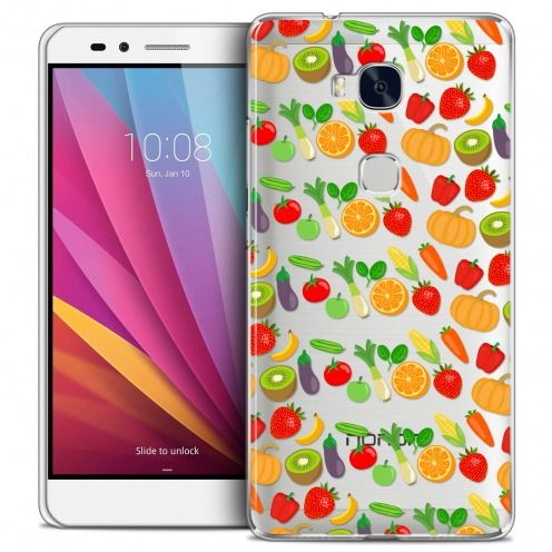 Coque Crystal Honor 5X Extra Fine Foodie - Healthy