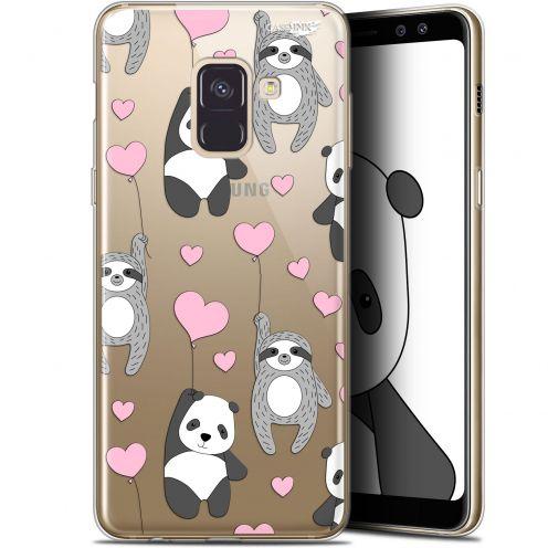 "Coque Gel Samsung Galaxy A8+ (2018) A730 (6"") Extra Fine Motif - Panda'mour"