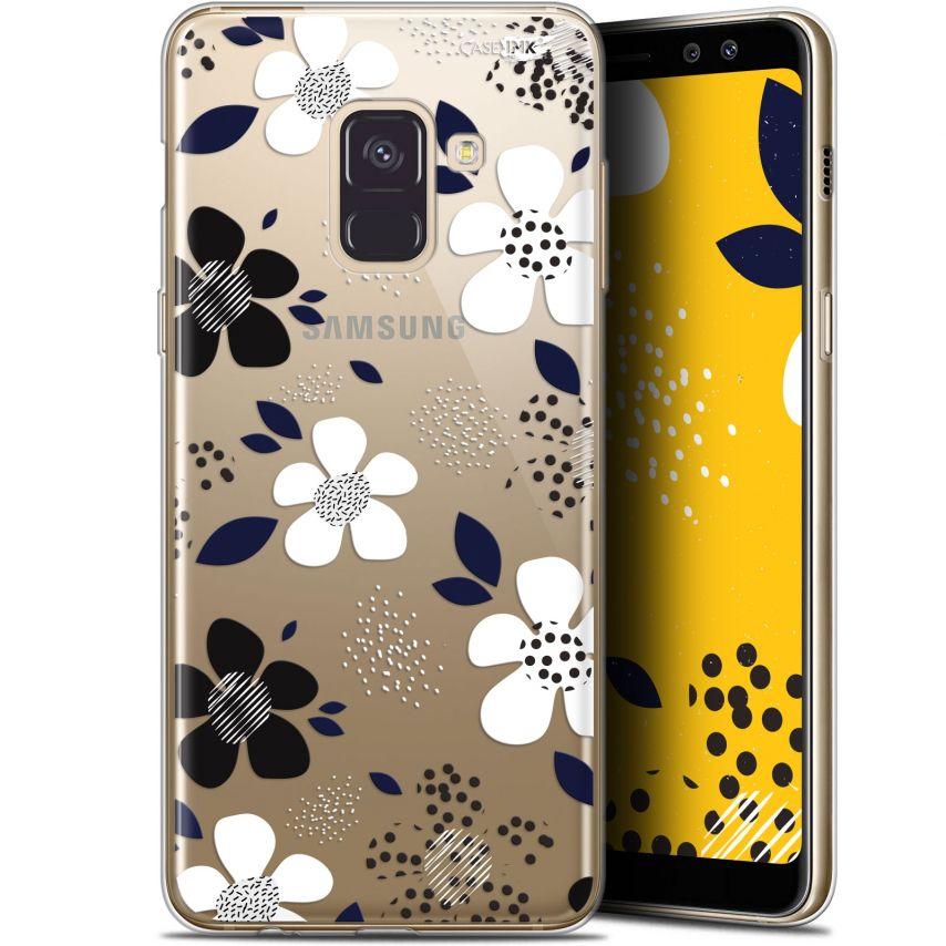 "Coque Gel Samsung Galaxy A8+ (2018) A730 (6"") Extra Fine Motif - Marimeko Style"