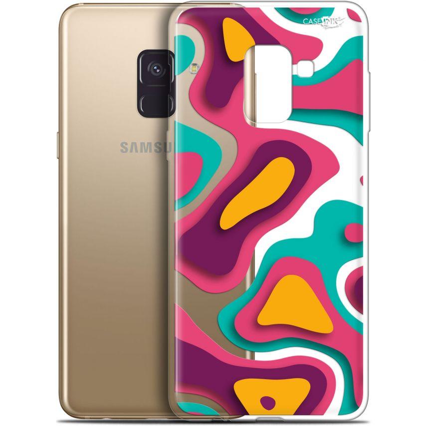 """Coque Gel Samsung Galaxy A8+ (2018) A730 (6"""") Extra Fine Motif - Popings"""