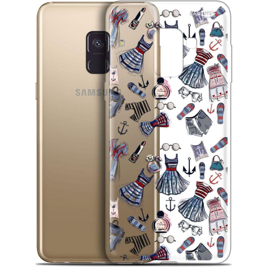 """Coque Gel Samsung Galaxy A8+ (2018) A730 (6"""") Extra Fine Motif - Fashionista"""