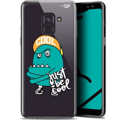 "Coque Gel Samsung Galaxy A8+ (2018) A730 (6"") Extra Fine Motif -  Be Cool"