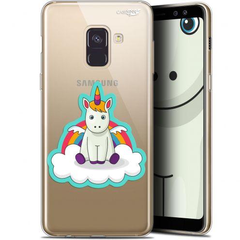 """Coque Gel Samsung Galaxy A8+ (2018) A730 (6"""") Extra Fine Motif - Bébé Licorne"""