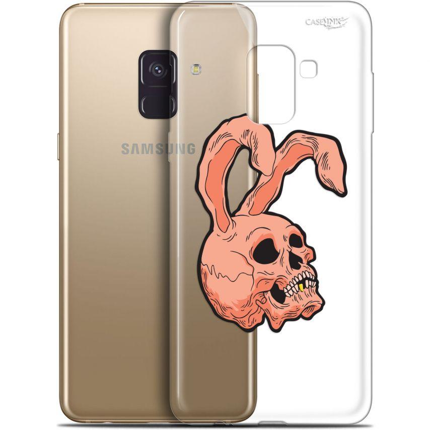 "Coque Gel Samsung Galaxy A8+ (2018) A730 (6"") Extra Fine Motif - Rabbit Skull"