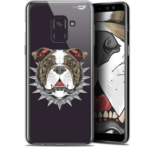 """Coque Gel Samsung Galaxy A8+ (2018) A730 (6"""") Extra Fine Motif -  Doggy"""
