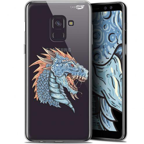 """Coque Gel Samsung Galaxy A8+ (2018) A730 (6"""") Extra Fine Motif - Dragon Draw"""