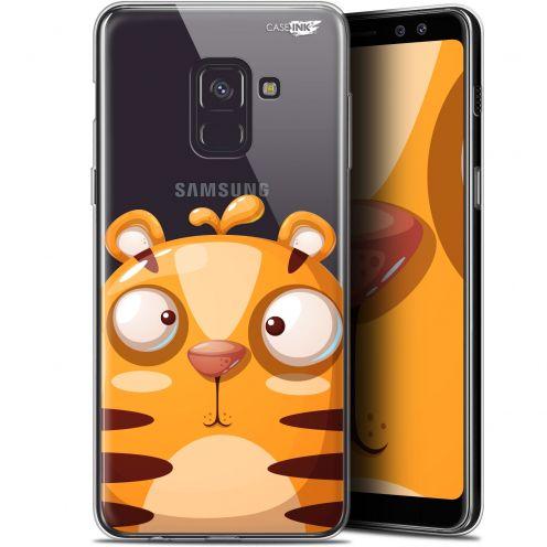 "Coque Gel Samsung Galaxy A8+ (2018) A730 (6"") Extra Fine Motif - Cartoon Tiger"