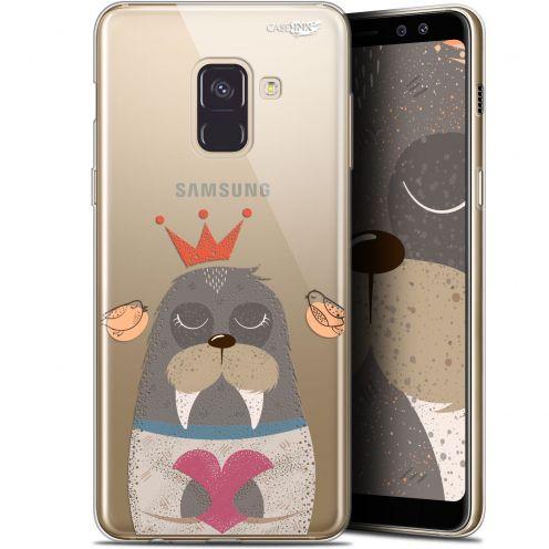 "Coque Gel Samsung Galaxy A8+ (2018) A730 (6"") Extra Fine Motif -  Sketchy Walrus"