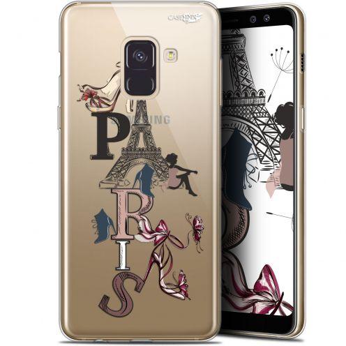 """Coque Gel Samsung Galaxy A8+ (2018) A730 (6"""") Extra Fine Motif - Stylish Paris"""