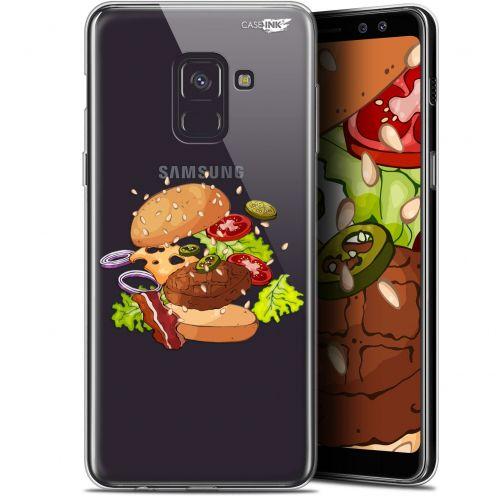 "Coque Gel Samsung Galaxy A8+ (2018) A730 (6"") Extra Fine Motif -  Splash Burger"