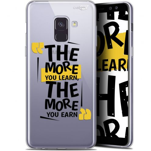 """Coque Gel Samsung Galaxy A8+ (2018) A730 (6"""") Extra Fine Motif -  The More You Learn"""