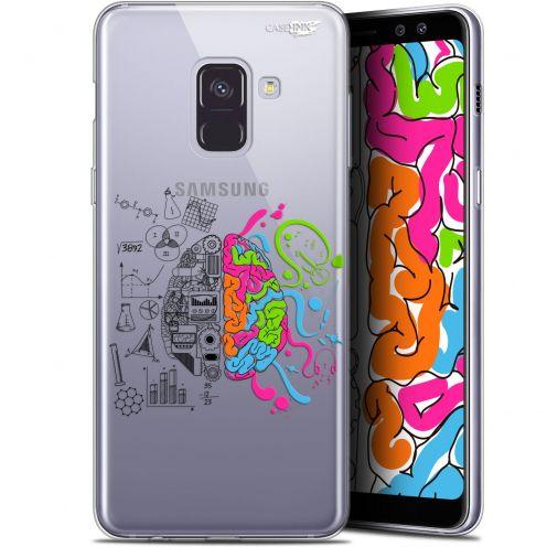"Coque Gel Samsung Galaxy A8+ (2018) A730 (6"") Extra Fine Motif - Le Cerveau"