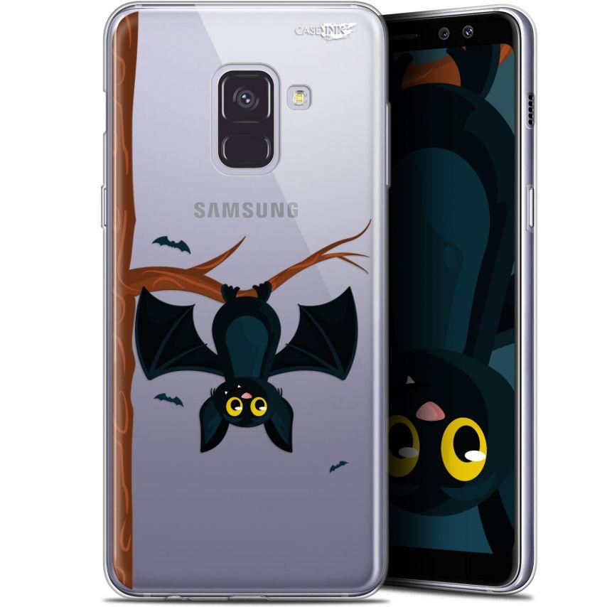 """Coque Gel Samsung Galaxy A8+ (2018) A730 (6"""") Extra Fine Motif - Petite Chauve Souris"""