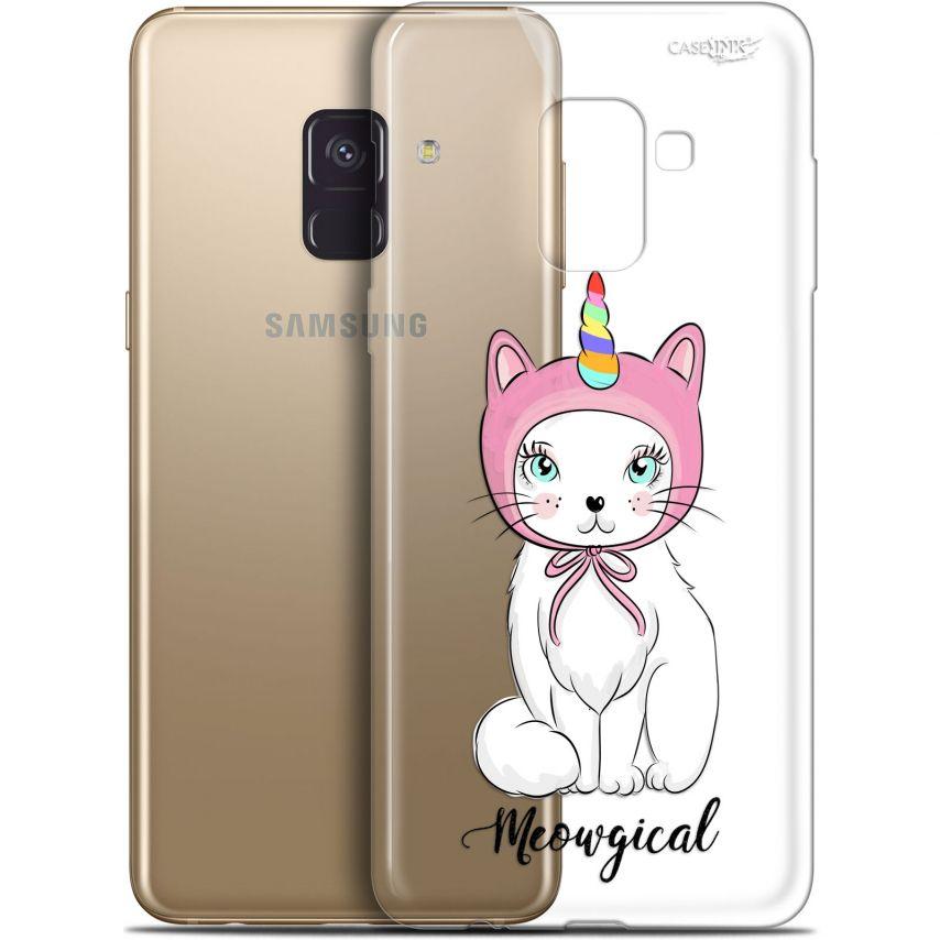 "Coque Gel Samsung Galaxy A8+ (2018) A730 (6"") Extra Fine Motif - Ce Chat Est MEOUgical"