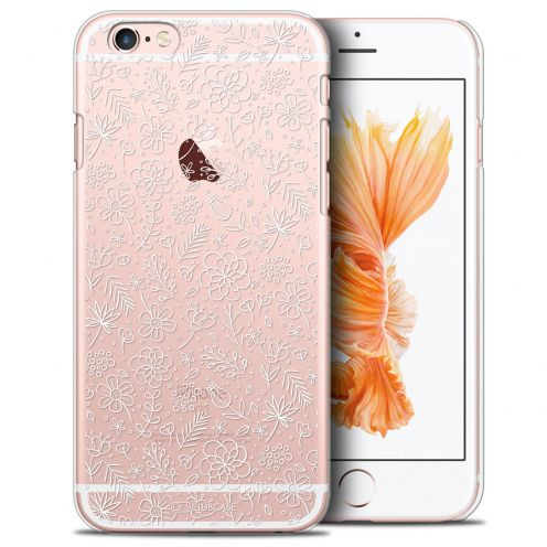 Coque Crystal iPhone 6/6s Extra Fine Summer - Florale Blanche
