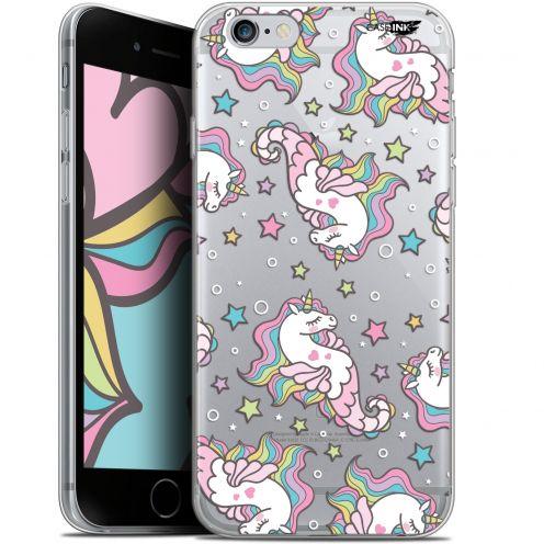 "Coque Gel Apple iPhone 6/6s (4.7"") Extra Fine Motif -  Licorne Dormante"