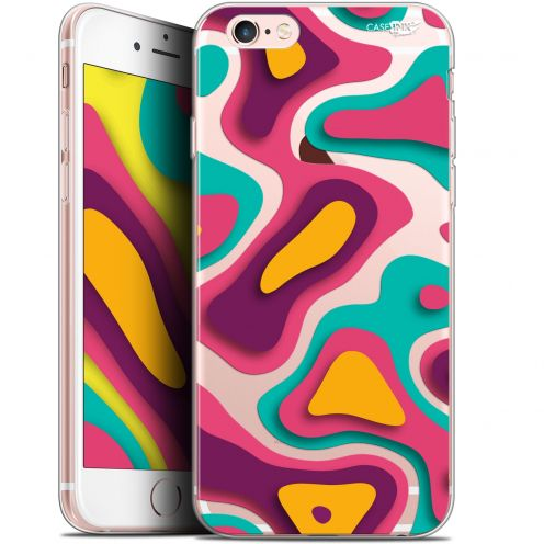 "Coque Gel Apple iPhone 6/6s (4.7"") Extra Fine Motif -  Popings"