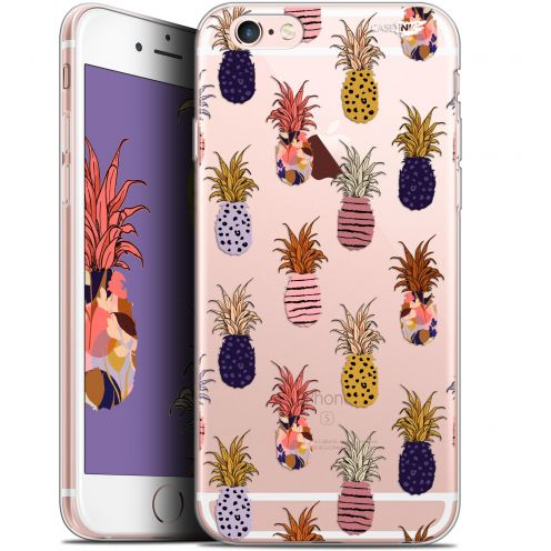 "Coque Gel Apple iPhone 6/6s (4.7"") Extra Fine Motif - Ananas Gold"