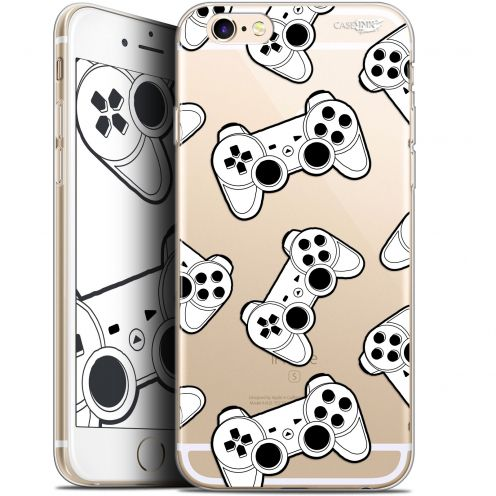 "Coque Gel Apple iPhone 6/6s (4.7"") Extra Fine Motif -  Game Play Joysticks"