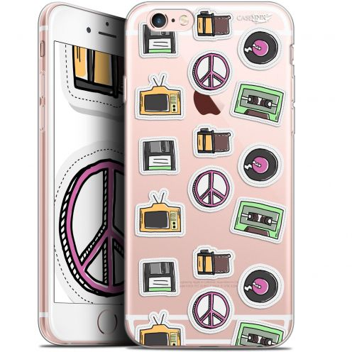 "Coque Gel Apple iPhone 6/6s (4.7"") Extra Fine Motif -  Vintage Stickers"
