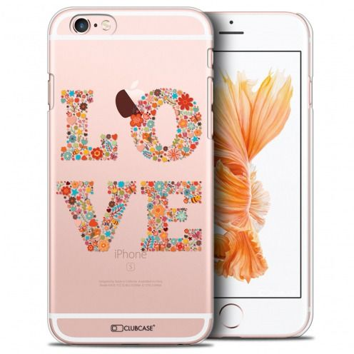 Coque Crystal iPhone 6/6s Extra Fine Summer - Love Flowers