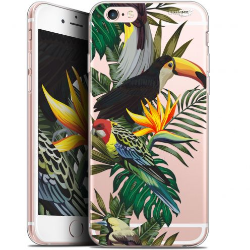 "Coque Gel Apple iPhone 6/6s (4.7"") Extra Fine Motif - Toucan Tropical"