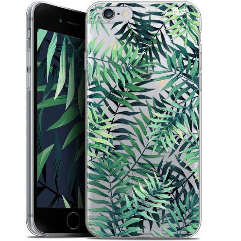 "Coque Gel Apple iPhone 6/6s (4.7"") Extra Fine Motif -  Feuilles des Tropiques"