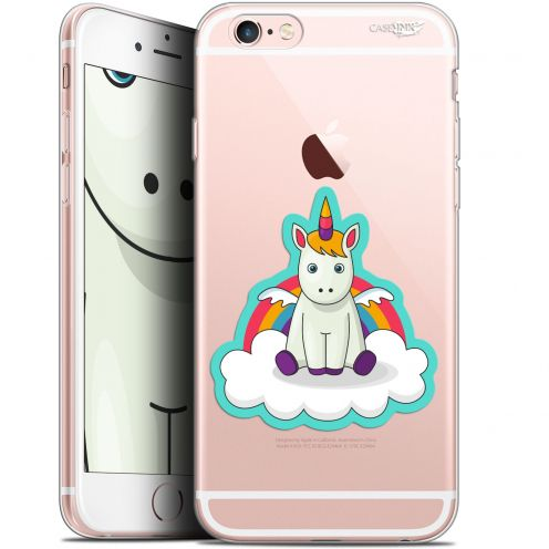 "Coque Gel Apple iPhone 6/6s (4.7"") Extra Fine Motif - Bébé Licorne"