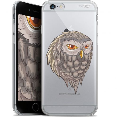 "Coque Gel Apple iPhone 6/6s (4.7"") Extra Fine Motif -  Hibou Draw"