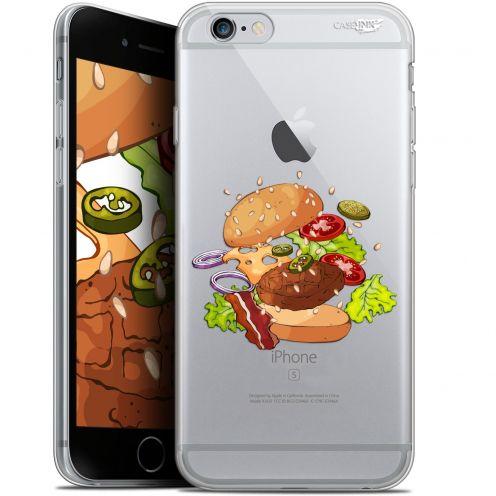 "Coque Gel Apple iPhone 6/6s (4.7"") Extra Fine Motif -  Splash Burger"