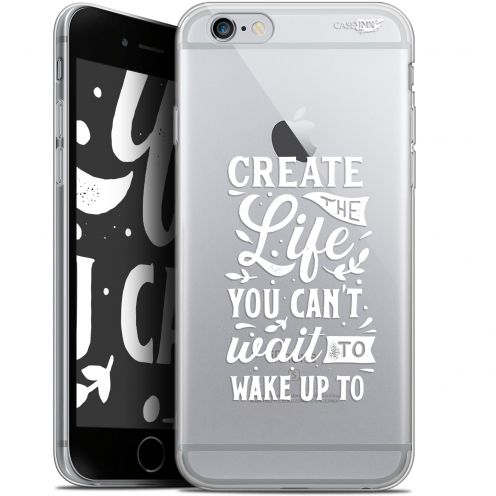 "Coque Gel Apple iPhone 6/6s (4.7"") Extra Fine Motif -  Wake Up Your Life"