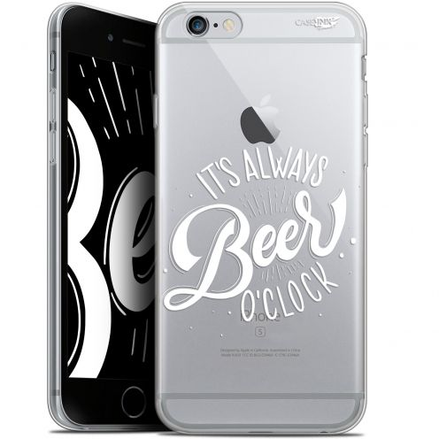 "Coque Gel Apple iPhone 6/6s (4.7"") Extra Fine Motif -  Its Beer O'Clock"