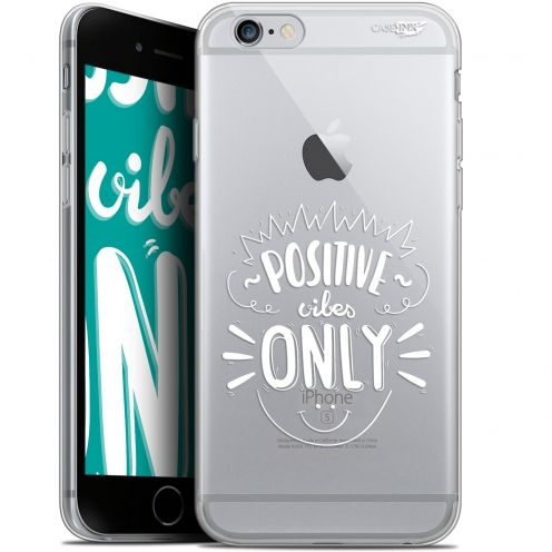 "Coque Gel Apple iPhone 6/6s (4.7"") Extra Fine Motif -  Positive Vibes Only"
