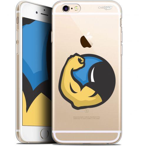 "Coque Gel Apple iPhone 6/6s (4.7"") Extra Fine Motif - Monsieur Muscle"